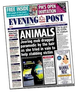 Evening Post 'ANIMALS' cover