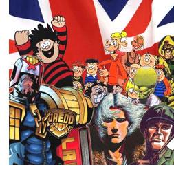 British comics medley