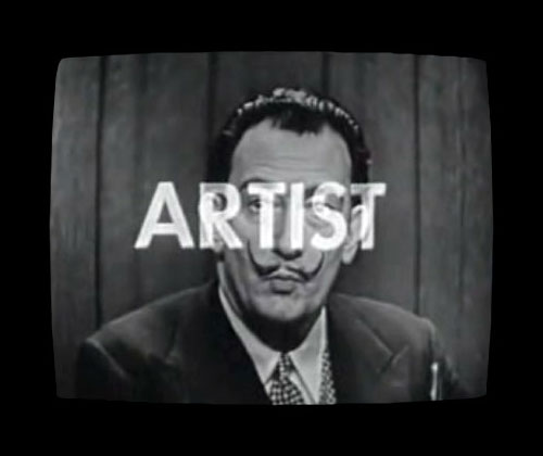 Salvador Dali, 'ARTIST', on 'What's My Line?'