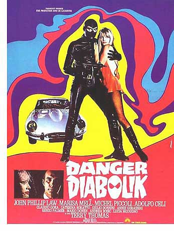 Danger Diabolik poster