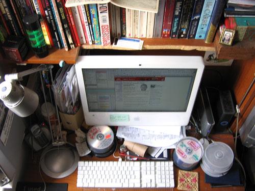 Bristle's desk
