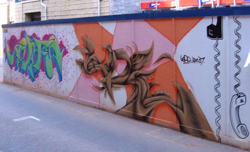 Sepr paint job, Charles Street (13/9/07)