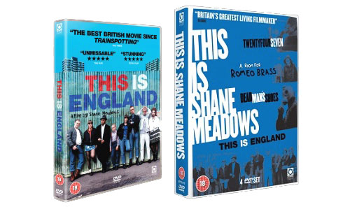 Shane Meadows DVDs