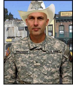 Brigadier-General Joseph Anderson, Chief of Staff, Multinational Corps - Iraq