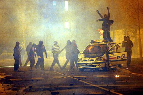 Paris riots 2007