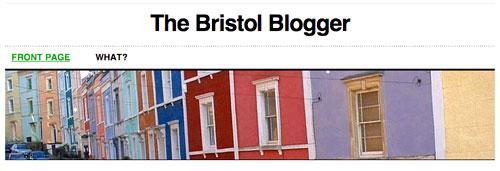 Bristol Blogger header