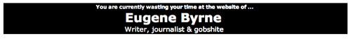 Eugene Byrne header