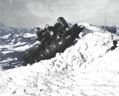 German screw vehicle