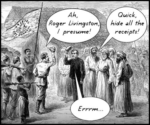 Roger Livingston I presume