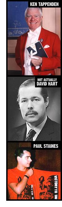 Ken Tappenden, 'David Hart' & Paul Staines