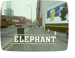 'Elephant' title screen