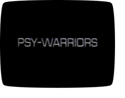 'Psy-Warriors' title card