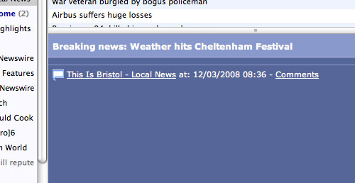 CHELTENHAM WEATHER SHOCKER