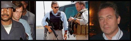 Tim Spicer <3 blue shirts and big shiny guns