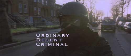 Ordinary Decent Criminal title screen