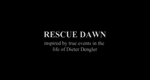 Rescue Dawn title screen