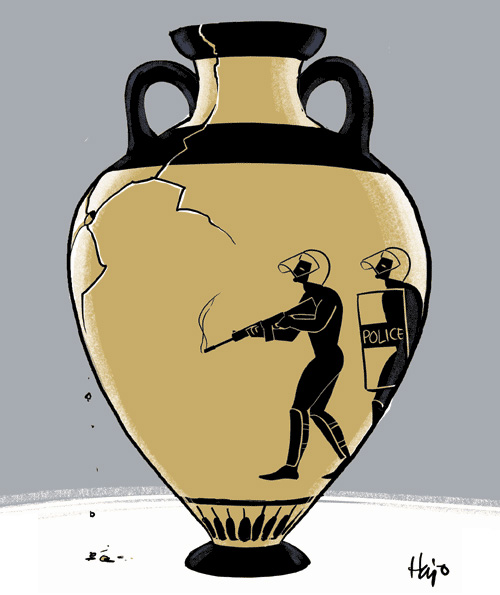 Greek vase, by Hajo