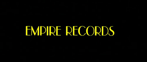 Empire Records title screen