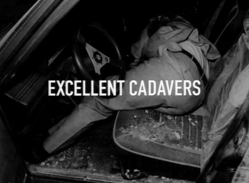 Excellent Cadavers title screen