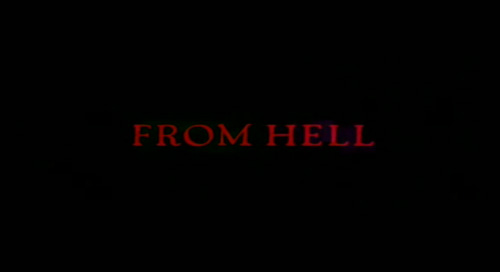From Hell title screen