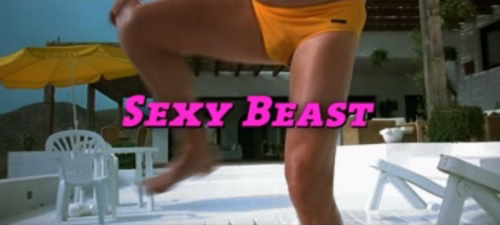 Sexy Beast title screen