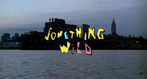 Something Wild title screen