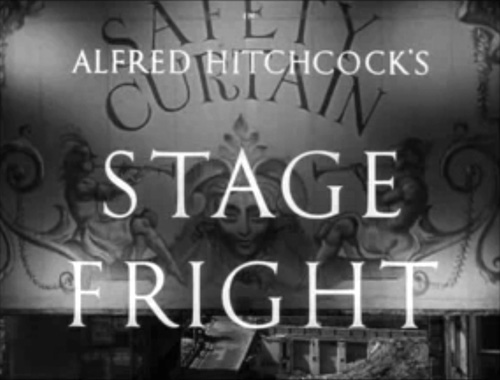 Stage Fright title screen