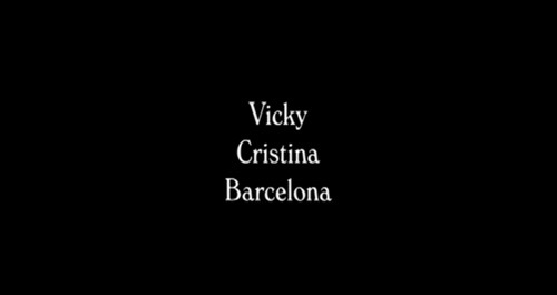 Vicky Cristina Barcelona title screen