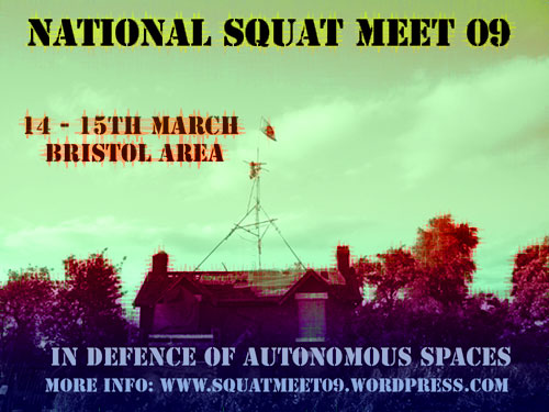 National Squat Meet 09 flyer