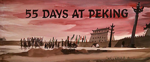 55 Days At Peking title screen