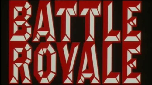 Battle Royale title screen
