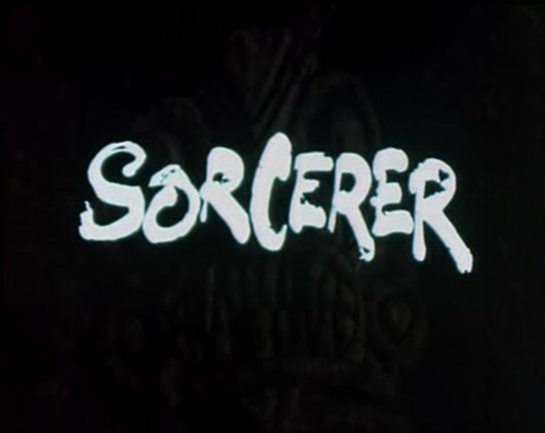 Sorcerer title screen