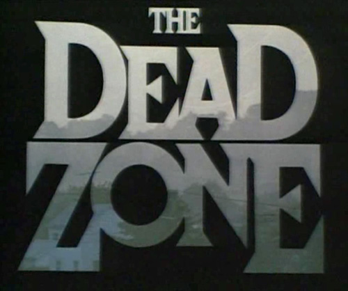 The Dead Zone title screen