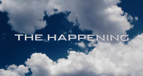 The Happening title screen
