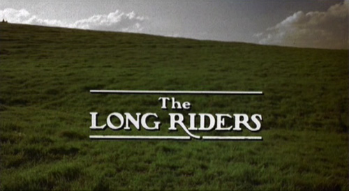 The Long Riders title screen