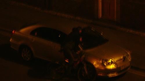 Casing cars on Wilder Street