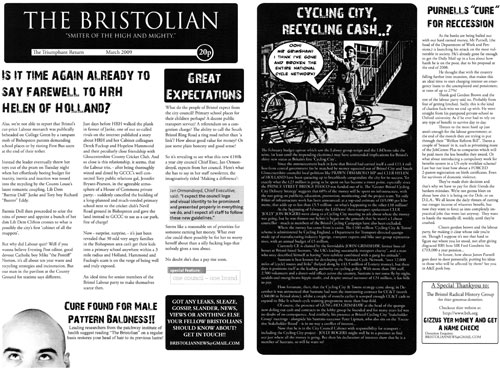 The Bristolian is back!