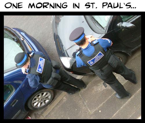 Parking not allowed