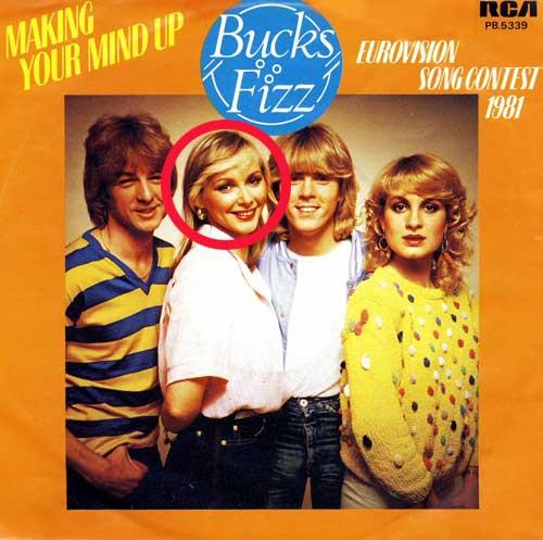 Cheryl Baker from Buck's Fizz