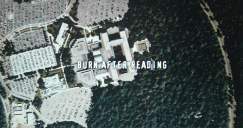 Burn After Reading title screen