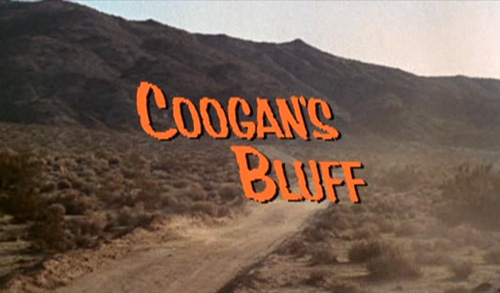 Coogan's Bluff title screen