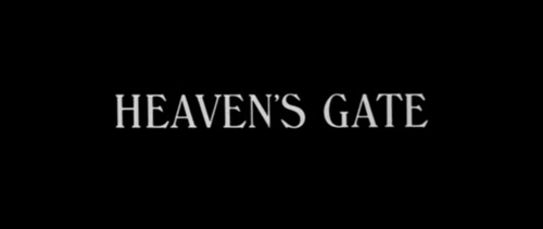 Heaven's Gate title screen