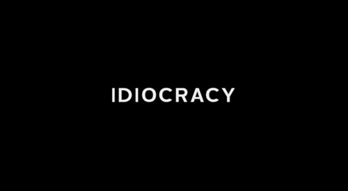 Idiocracy title screen