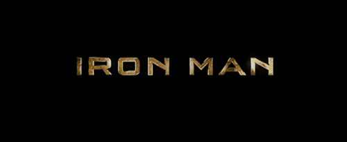 Iron Man title screen