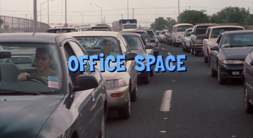 Office Space title screen
