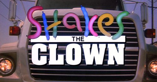 Shakes The Clown title screen