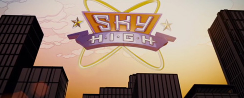 Sky High title screen