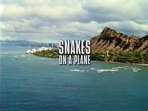 Snakes On A Plane title screen