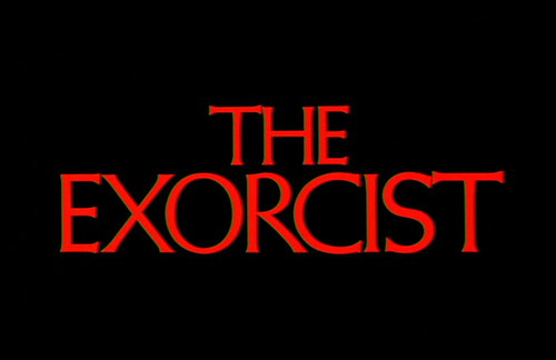 The Exorcist title screen
