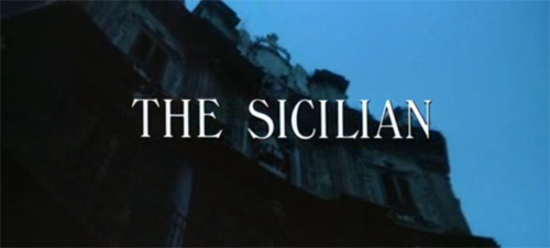 The Sicilian title screen